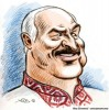 Alexander G. Lukashenko President of Belarus, cartoon